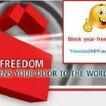 حظر اليورفريدوم your-freedom في سيرفر المايكروتك