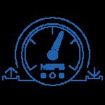اداة سهلة لقياس سرعة اتصال الانترنت رفع - تحميل