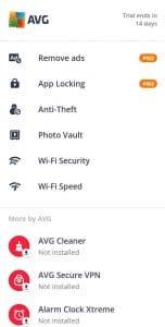 تحميل تطبيق مضاد الفيروسات للأندرويد AVG Cleaner -6