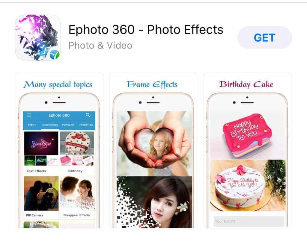 تحميل تطبيق Ephoto 360 -1