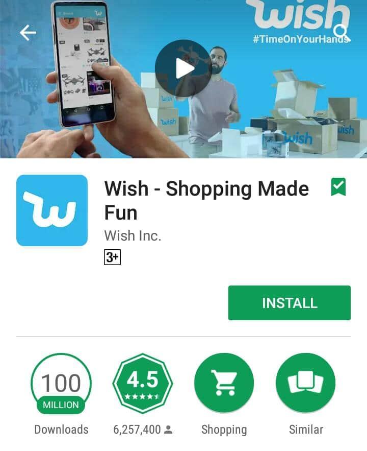 تحميل تطبيق wish للتسويق -2