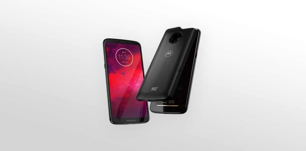 Photo of موتورولا الاعلان عن هاتفها الجديد Motorola Moto Z3