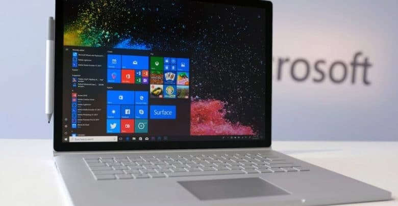 Microsoft's surface book 2