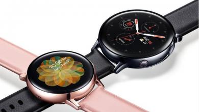 Photo of شركة سامسونج ستُعلن قريباً عن ساعتها الجديدة Samsung Galaxy Watch Active 2