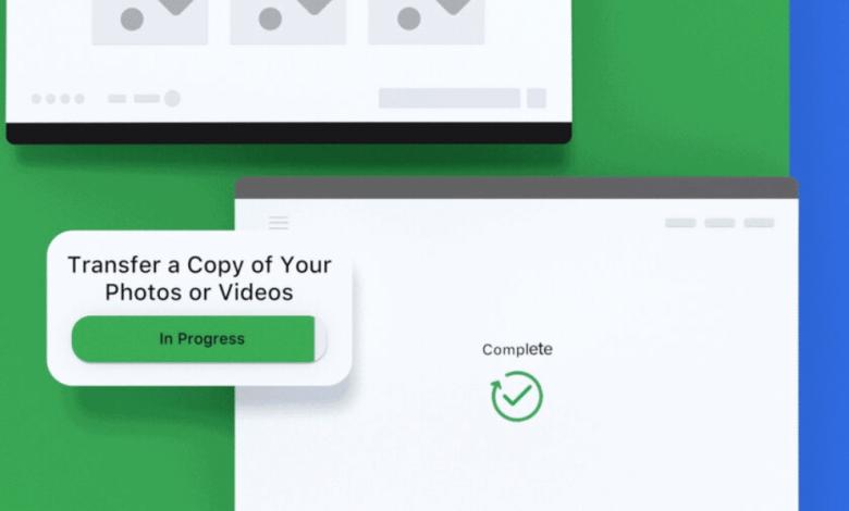 """أداة جديدة لموقع فيسبوك تسمح للمستخدم بتصدير الصور والفيديوهات لخدمة """"صور جوجل Google Photos"""""""